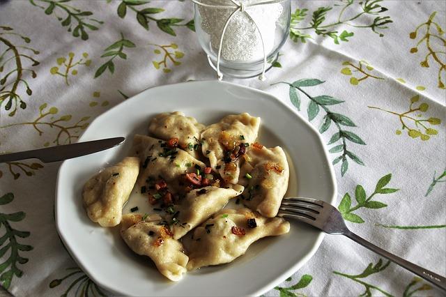pierogi danie kuchni polskiej