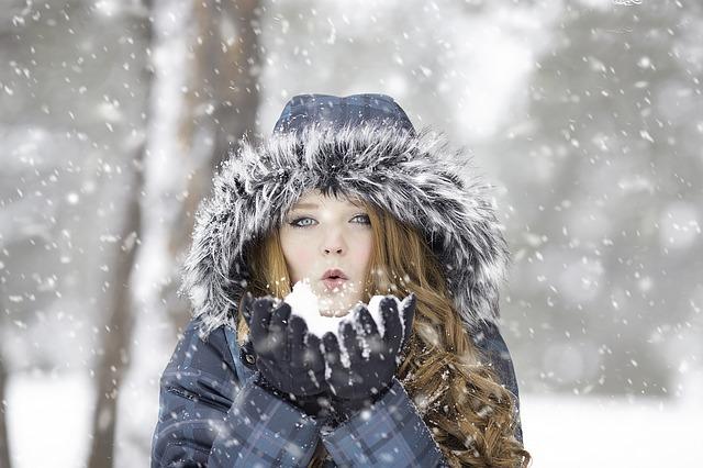 włosy zimą